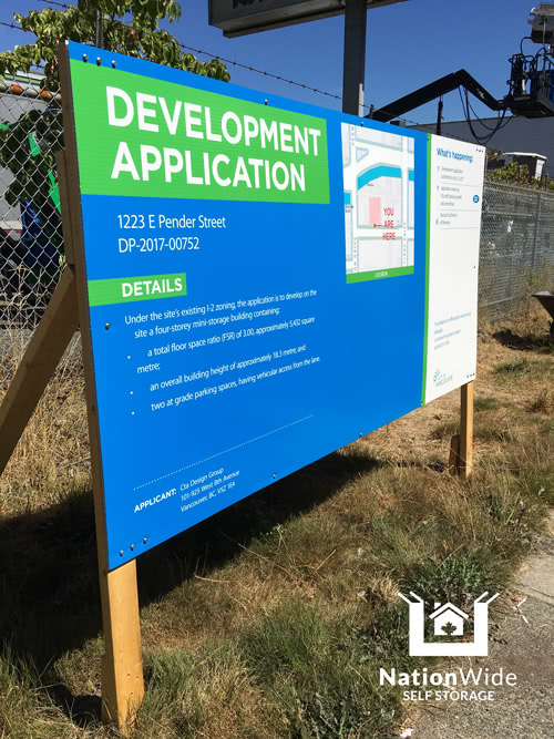 Development Application to the City of Vancouver for the Pender Property
