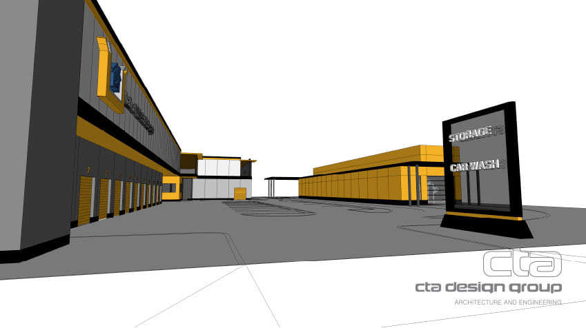 Architect Rendering of the Kamloops Property developed by CTA Design Group