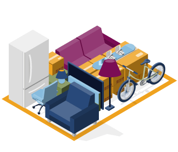 Medium-sized storage locker