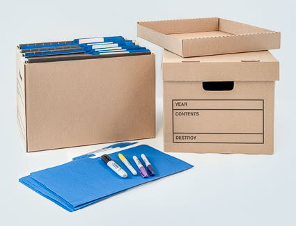 Files and documents banker box