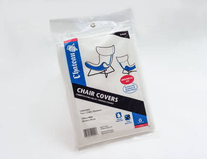 A Chair cover provide by NationWide to help you move out