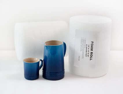 Foam roll sheets
