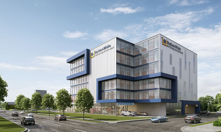 NationWide Self Storage, a modern facility situated in Vancouver, BC