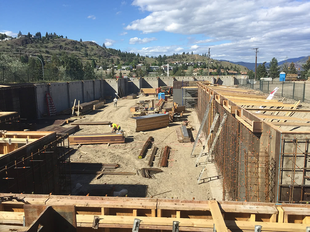 Kamloops property – overview of the site as of May 2019